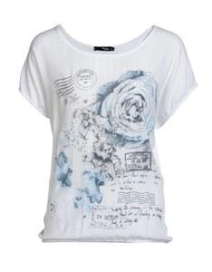 My Own - Shirt mit Blumendruck und Steinchen