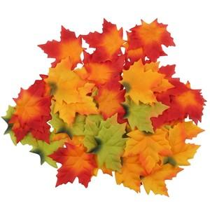 Streudeko Herbstblätter, 50-teilig