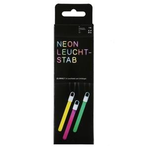 Neon-Leuchtstäbe zum Umhängen, 3er-Set