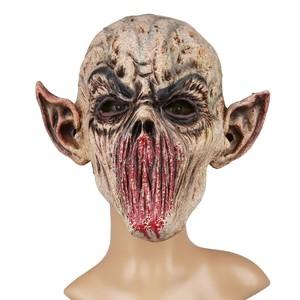 Halloween Maske Vampir ohne Mund