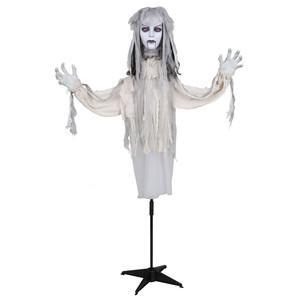 Halloween Figur Vampir Braut animiert