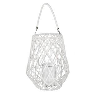 Design-Windlicht maritim weiß