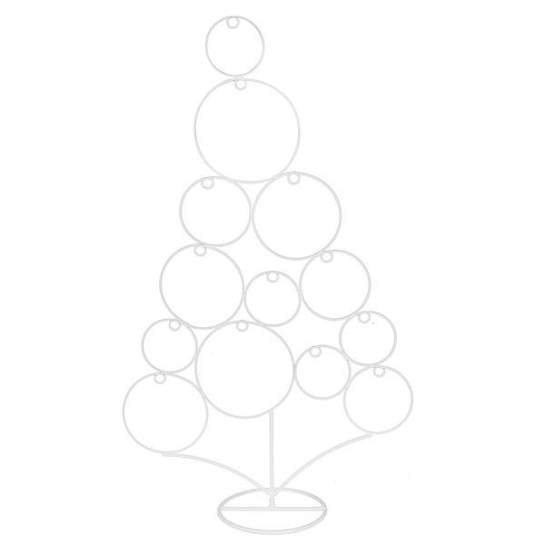 Weihnachtsbaum Metall.Weihnachtsbaum Metall 41 X 66 X 15 Cm Weiß
