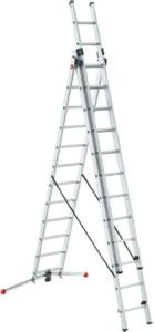 Hailo Kombileiter Profilot  3 x 12 Stufen