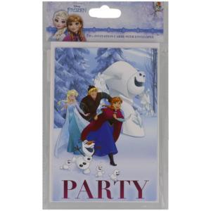 Disney Einladungskarten Frozen