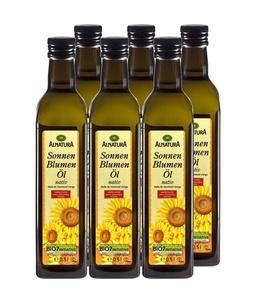 6 x Sonnenblumenöl nativ