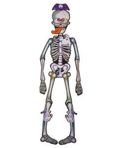 Jumbo-Skelett - beweglich