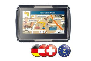 Motorrad Navigationssystem Zentraleuropa