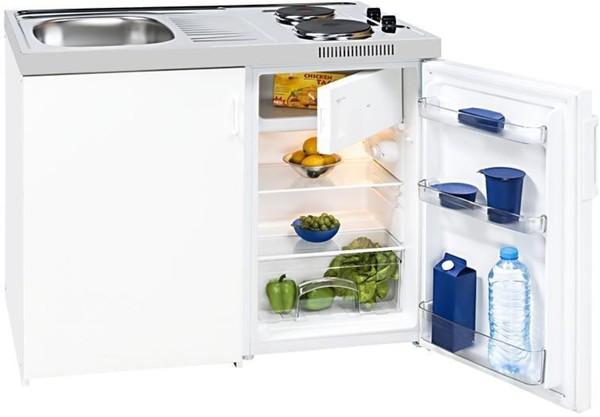Miniküche Mit Kühlschrank Hagebaumarkt : Exquisit kk a kompakt miniküche von norma ansehen