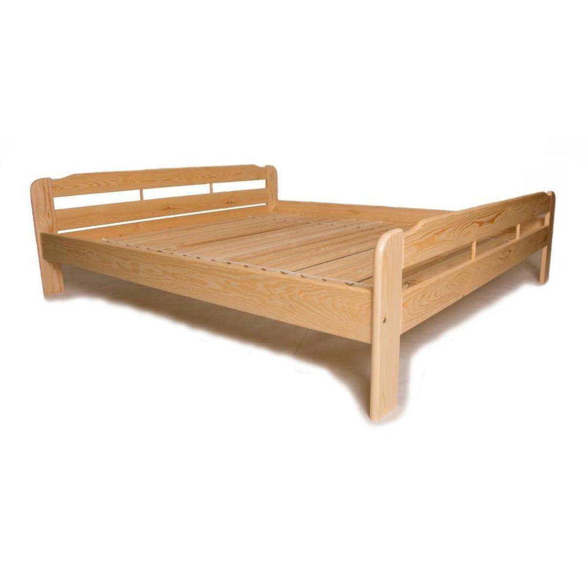 Bild 1 von acerto® Doppelbett mit Lattenrost 160x220cm