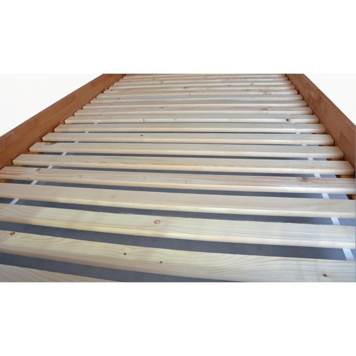 Bild 2 von acerto® Doppelbett mit Lattenrost 160x220cm