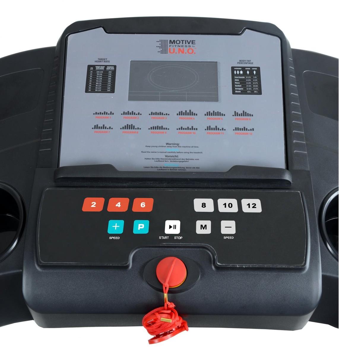 Bild 3 von MOTIVE Fitness by U.N.O. Laufband Speed Master 1.8M