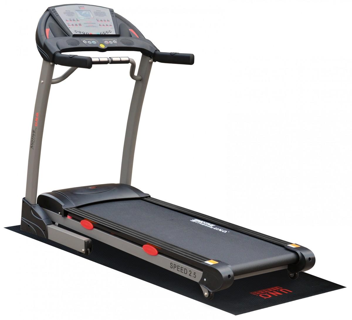 Bild 1 von MOTIVE Fitness by U.N.O. Laufband Speed 2.5 inkl. Schutzmatte
