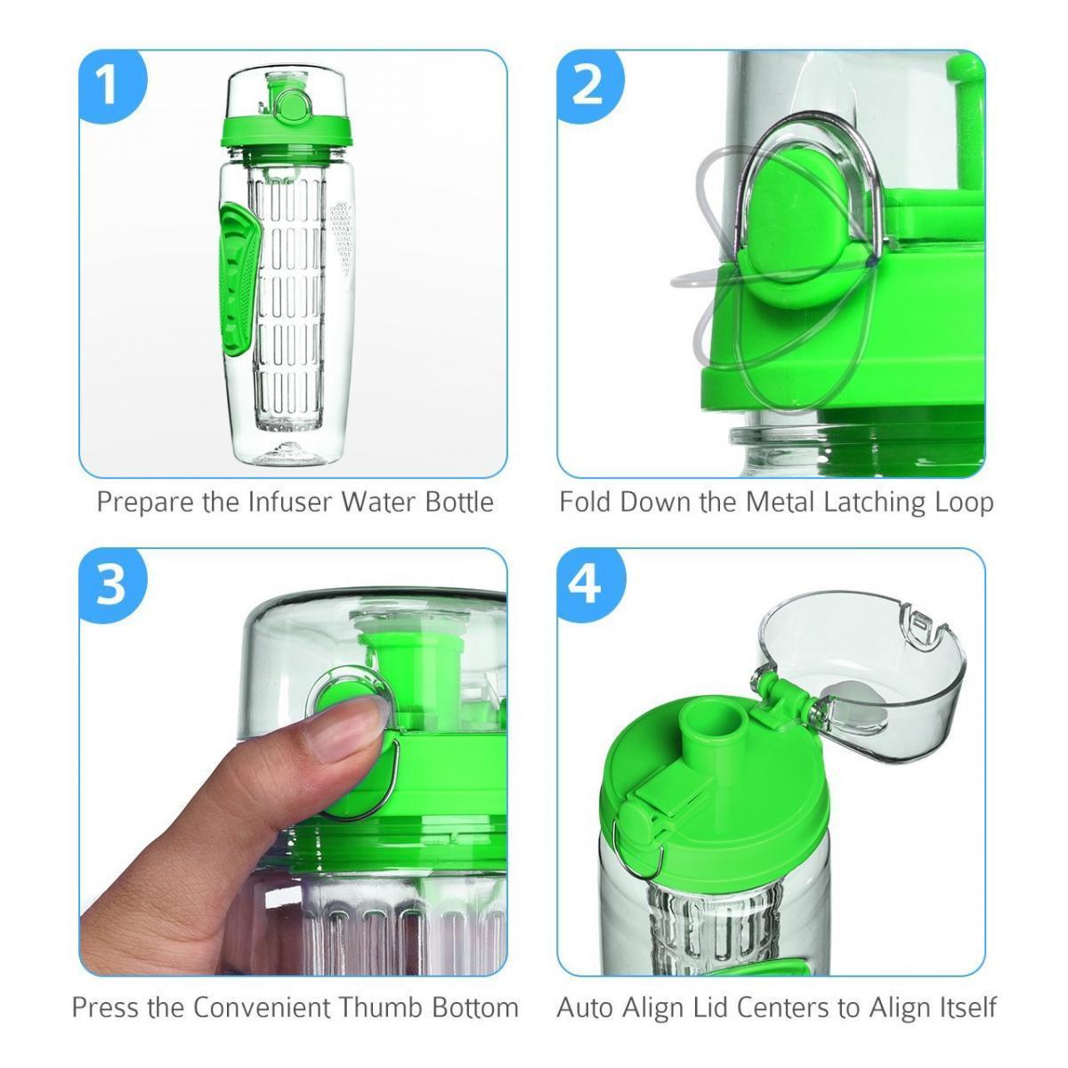 Bild 3 von LA VAGUE VITALITY Trinkflasche mit Einsatz