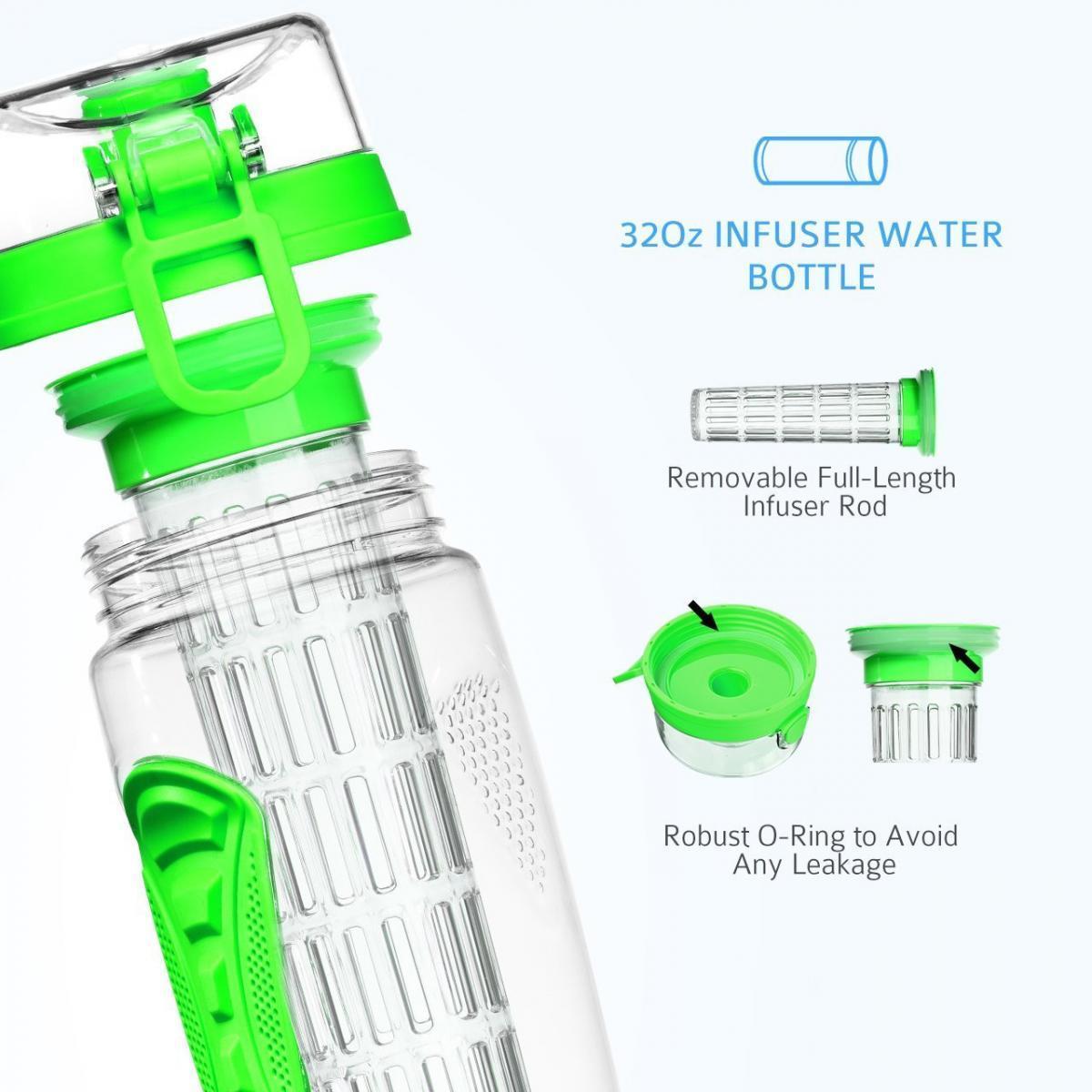 Bild 4 von LA VAGUE VITALITY Trinkflasche mit Einsatz