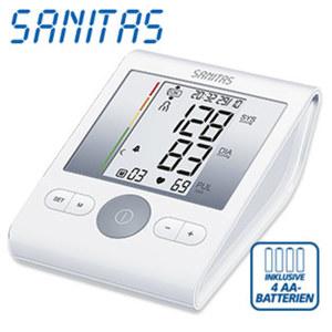 Blutdruckmessgerät SBM 22 · vollautom. Blutdruck- und Pulsmessung am Oberarm · Arrhythmie-Erkennung
