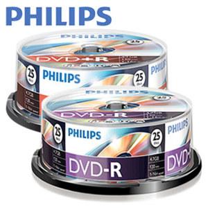 DVD+R oder DVD-R Rohlinge · 25er Spindel · ideal für Videos und große Dateien · je