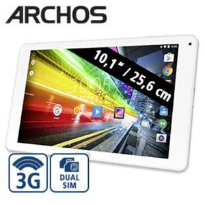 Multimedia-Tablet-PC 101 Platinum 3G • Quad-Core-Prozessor (bis zu 1,3 GHz) • inkl. 3G-Funktion • 2 Kameras (0,3 MP/2 MP) • microSDTM-Slot bis zu 32 GB • AndroidTM 7.0