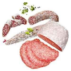 Aoste Original Baguette-Salami oder Ringsalami luftgetrocknet, je 100 g