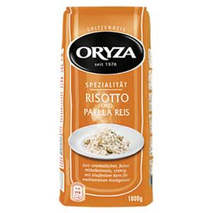 Oryza Reis Spezialitäten oder Reis-Fit Spezialitäten im Kochbeutel versch. Sorten, jede 500/1000-g-Packung