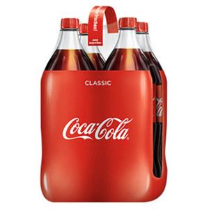 Coca-Cola*, Fanta oder Sprite (*koffeinhaltig), versch. Sorten, jede 4 x 1,5-Liter-Packung (+ 1,00 Pfand)