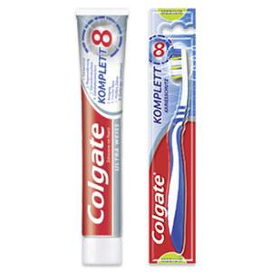 Colgate Komplett Zahnbürste oder Zahncreme versch. Sorten, jede 1er-Packung/75-ml-Tube