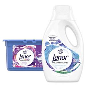 Lenor Waschmittel 12/16/17 Waschladungen, versch. Sorten, jede Flasche/Packung