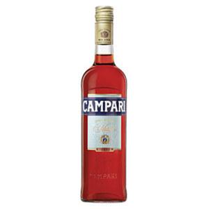Campari Bitter 25 % Vol., jede 0,7-l-Flasche
