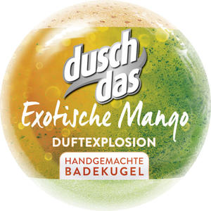 duschdas Badekugel Exotische Mango
