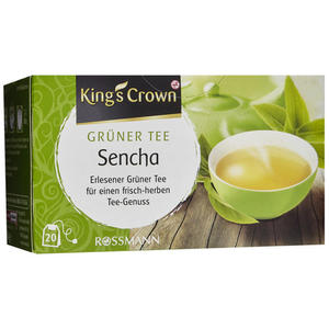 King´s Crown Grüner Tee Sencha 3.30 EUR/100 g