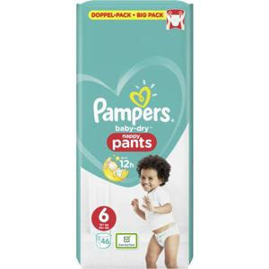 Pampers Baby Dry Pants Doppel-Pack Gr. 6, 15+ kg