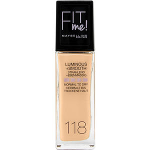Maybelline Fit Me! Liquid Make-up Nr. 118