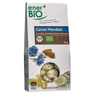 enerBiO Bio Ganze Mandeln in weißer Schokolade & Kornbl 3.52 EUR/100 g