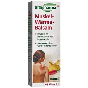 altapharma Muskel-Wärme-Balsam 3.79 EUR/100 ml
