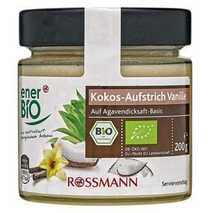 enerBiO Bio Kokos-Aufstrich Vanille 1.50 EUR/100 g