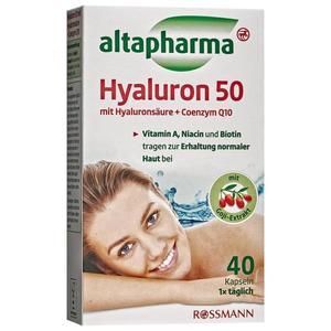 altapharma Hyaluron 50 Kapseln 22.88 EUR/100 g