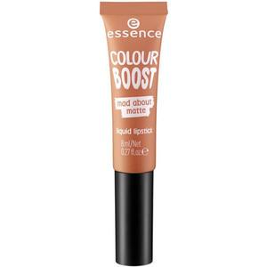 essence colour boost mad about matte liquid lipstick 08