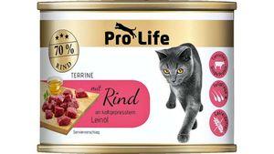 Pro Life Katze Katzennassfutter - Terrine mit Rind