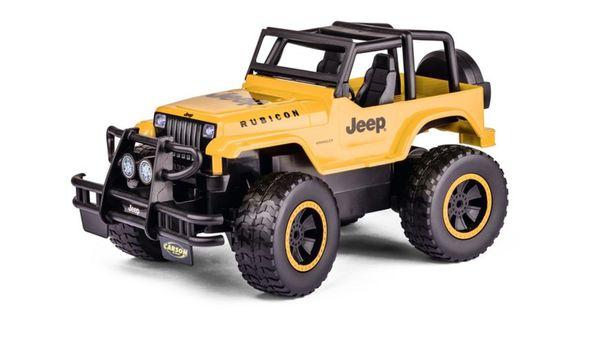 CARSON Jeep Wrangler 1:12  2.4G 100% RTR gelb
