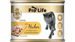 Pro Life Katze Katzennassfutter -Terrine mit Huhn