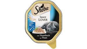 Sheba Katzennassfutter Sauce Lover mit Thunfisch (MSC)