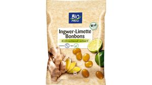 BIO PRIMO Bonbons Ingwer-Limette