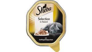 Sheba Katzennassfutter Selection in Sauce mit Geflügelhäppchen