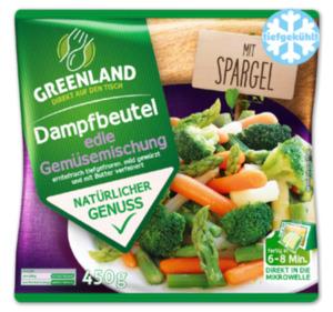 GREENLAND Gemüsemischung im Dampfbeutel