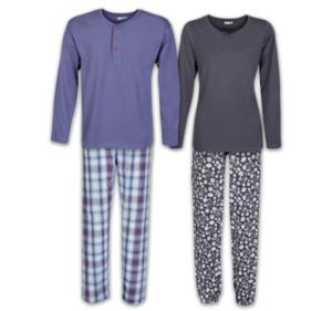 TRUE STYLE Damen- oder Herren-Schlafanzug