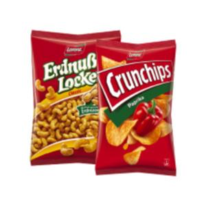 Lorenz Crunchips oder Erdnuß Locken