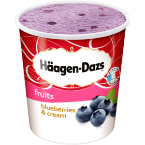 Häagen-Dazs Blueberries & Cream 500ml