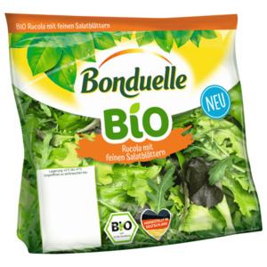 Bonduelle Bio Rucola mit feinen Salatblättern 80g