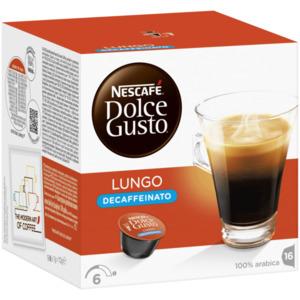 Nescafé Dolce Gusto Lungo Decaffeinato 112g, 16 Kapseln