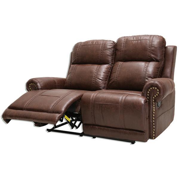 2 5 Sitzer Sofa braun Relaxfunktion von Roller ansehen